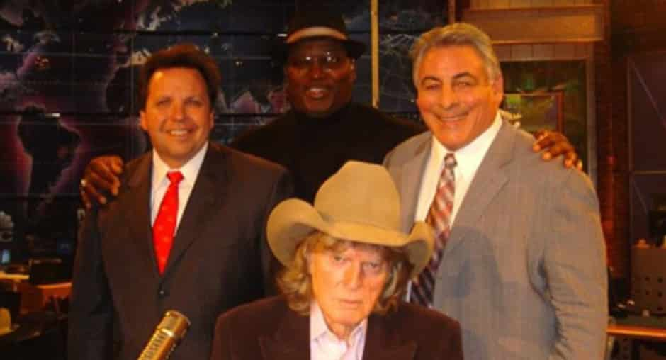Don With Don Imus And Sam Cunningham