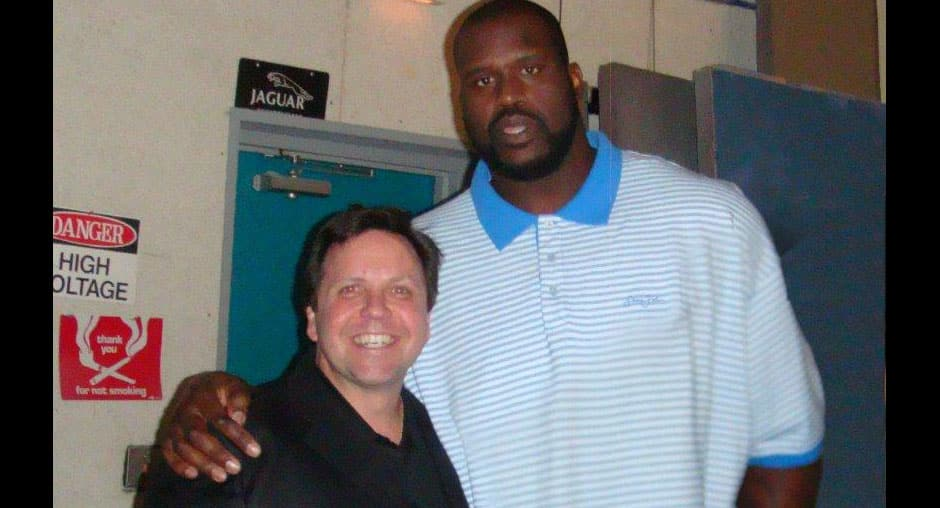 Don With Shaquille O'Neal