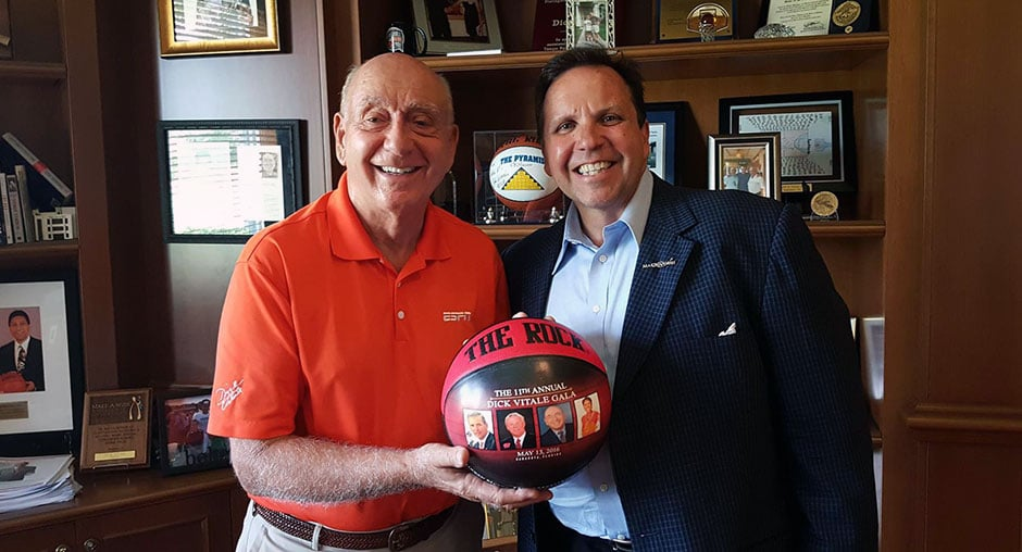 Don With Dick Vitale