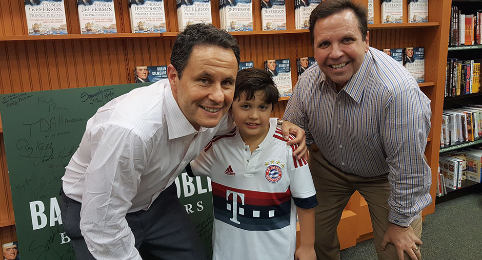 Don With Will Yaeger And Brian Kilmeade