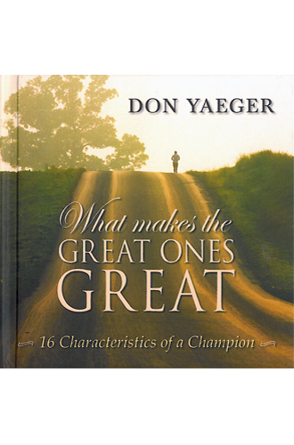 What Makes the Great Ones Great