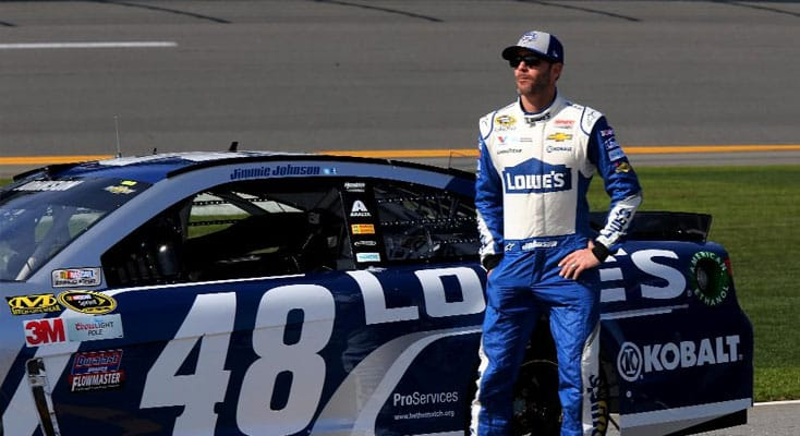 In Order To Finish First, First You Must Finish: Jimmie Johnson's Advice On Greatness